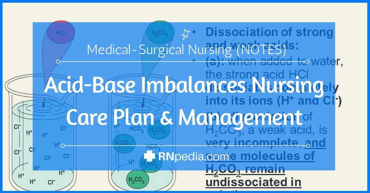 Acid Base Imbalances Nursing Care Plan Management RNpedia