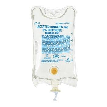 D5LRS (Lactated Ringer's Solution) IV Fluid