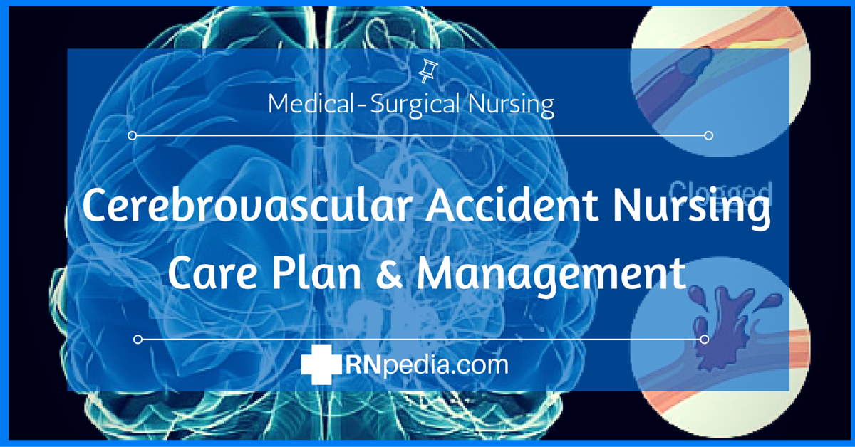 cerebrovascular accident nursing care plan & management, Skeleton
