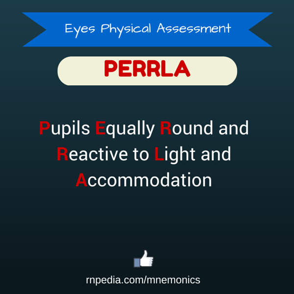 Eyes Physical Assessment