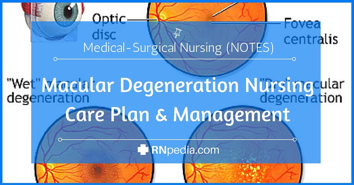 Macular Degeneration Nursing Care Plan Management Rnpedia